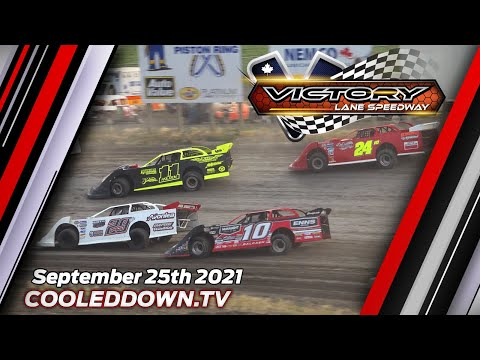 Saturday September 25th 2021, LIVE on PPV from Victory Lane Speedway - dirt track racing video image