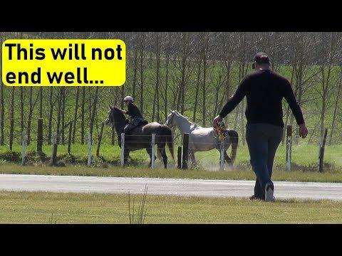 RC plane crash & walk of shame (with horses) - UCQ2sg7vS7JkxKwtZuFZzn-g
