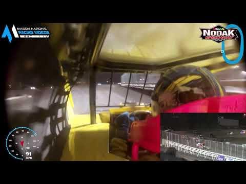 #10 Tyson Turnbull IMCA Modified On-Board @ Nodak (9/5/21) - dirt track racing video image