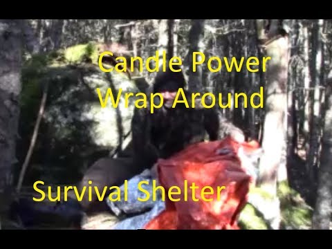 Candle Power, Wrap Around Survival Shelter