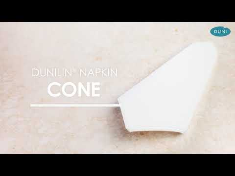 EASY NAPKIN FOLDING – CONE