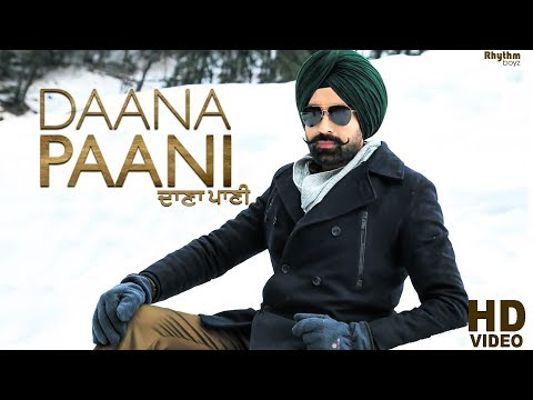 Daana Paani Title Song Lyrics - Tarsem Jassar | Jimmy Sheirgill & Simi Chahal
