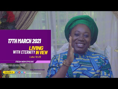 Dr Becky Paul-Enenche - SEEDS OF DESTINY  WEDNESDAY MARCH 17, 2021