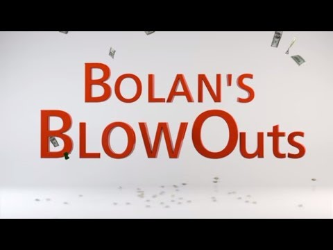 Ultra Clean and Libbey are two of Bolan's Blowouts