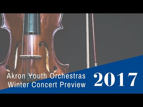 Akron Youth Orchestras Winter Concert 2017