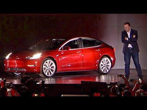 Tesla Model 3 (2017) Elon Musk's keynote [YOUCAR]