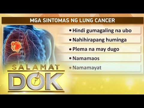 Salamat Dok: Symptoms and causes of lung cancer