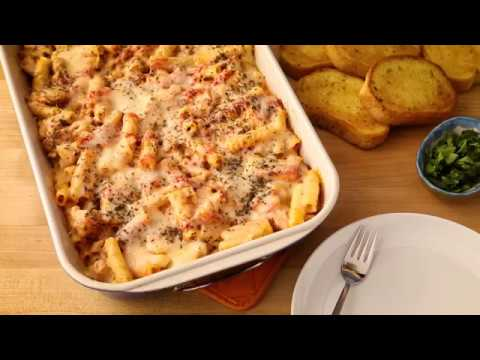 Pasta Recipes - How to Make Baked Ziti with Sausage