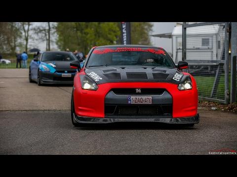 Nissan GT-R R35 w/ Milltek Exhaust - LOUD Acceleration