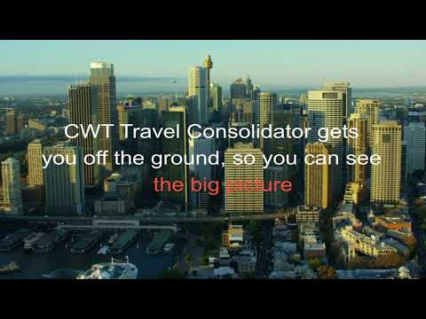 CWT Travel Consolidator - see the full picture of your travel & expense data