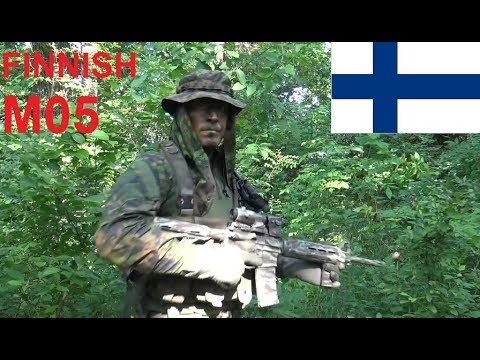 Finnish M05 Camouflage Effectiveness