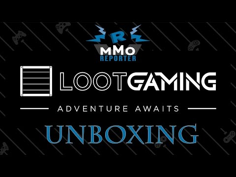 Loot Crate Gaming Unboxing