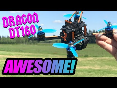 Dragon DT160 - AWESOME after my TUNE! - FULL REVIEW & FLIGHTS
