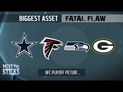 NFC Playoff Teams Biggest Asset & Fatal Flaw Entering the Divisional Round | Move the Sticks | NFL