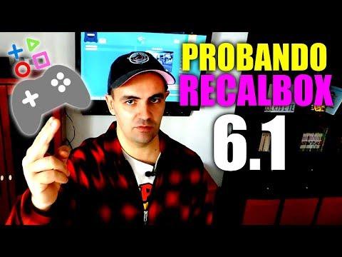 PROBANDO RECALBOX 6.1