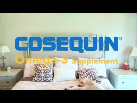 For a Healthy Skin and Coat - COSEQUIN® Omega-3 Supplement