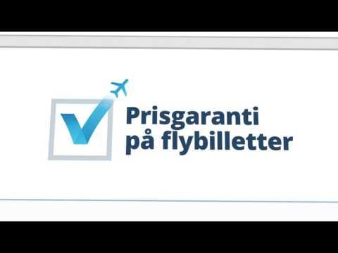 Se vores nye reklamefilm med flybilletter og prisgaranti