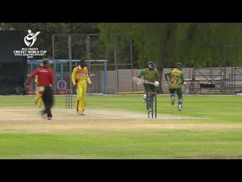 ICC U19 Cricket World Cup Africa Qualifier: Uganda v Nigeria highlights