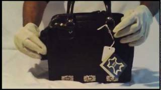 Globalfashionking Mc Marc Chantal Leather Western Black Purse You