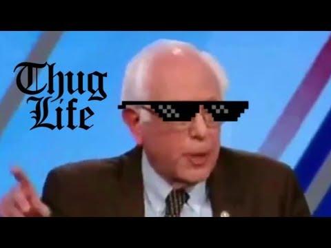 Bernie Keeps Shíttíng On The Media & It's Glorious