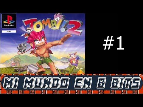 TOMBI! 2 CONTRA LOS CERDIABLOS - DIRECTO CAP 1- PSX GAMEPLAY ESPAÑOL
