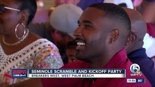 Seminole Scramble and Kickoff Party with EJ Manuel