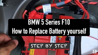 Sostituzione batteria Bmw Serie 5 da 2010 (F10)
