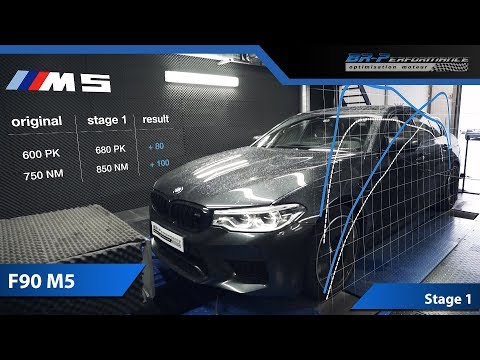 Remap BMW M5 F90 Stage 1 By BR-Performance