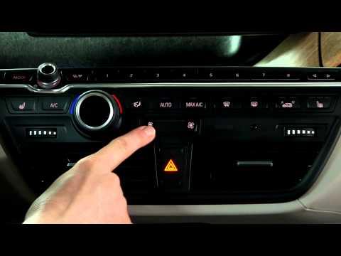 BMW i3 Climate Controls