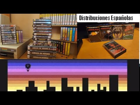 Distribuidoras de Software españolas en los 80 (V)-- Commodore 64 Real 50Hz
