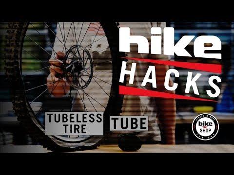 Bike Hack: Stubborn Tubeless Setup