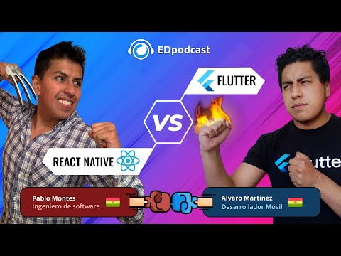 #EDpodcast - 4: React Native vs. Flutter 🔥
