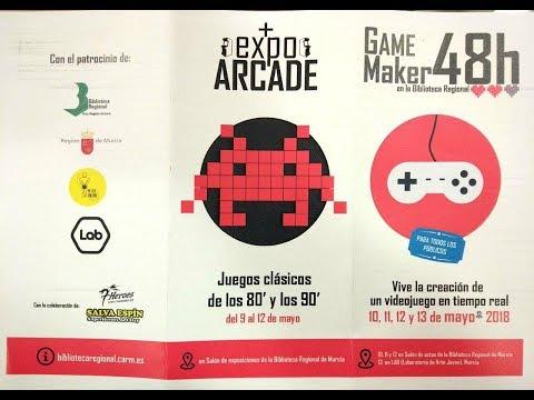 RETROEVENTOS: ExpoArcade + GameMaker 48h