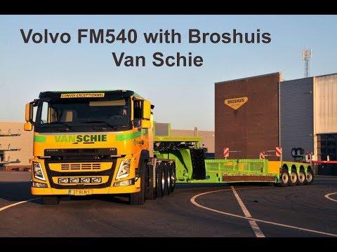 Van Schie Volvo FM540 with Broshuis