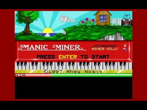 BITeLog 00CE: Manic Miner (DOS) LONGPLAY