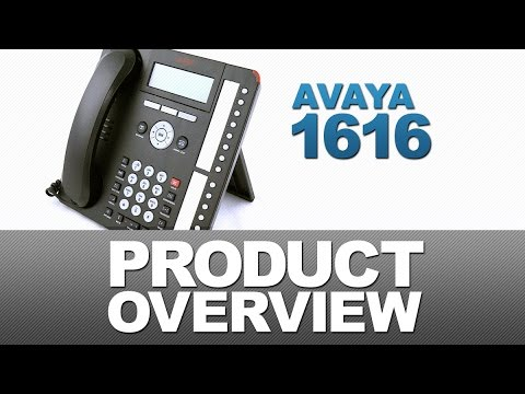 Avaya 1616 Product Overview