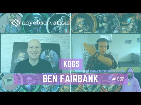 Anyobservation | #007 | Ben Fairbank | CEO & Co-founder RedFOX Labs