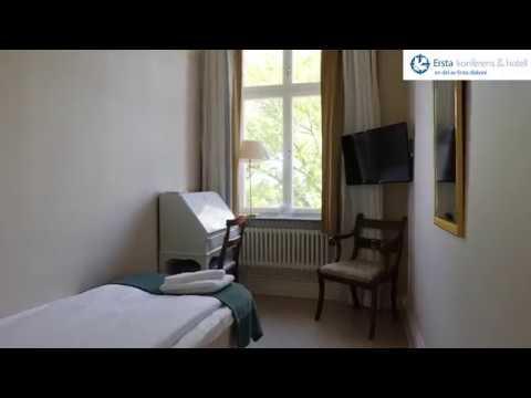 Systerrum som enkelrum på Ersta konferens & hotell