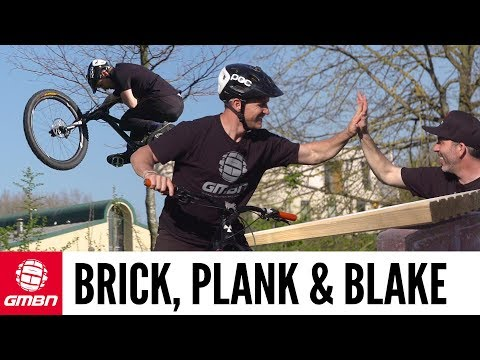 Jump Anywhere With A Plank And Bricks | GMBN Street Mountain Biking