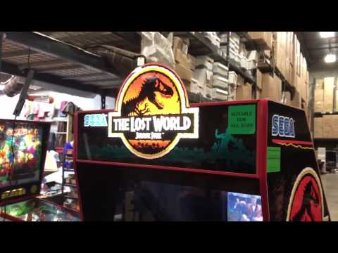 The Lost World Jurassic Park Arcade Game