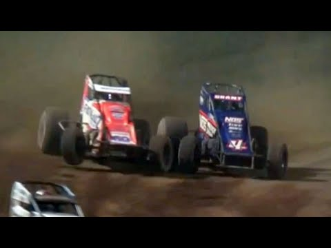 USAC National Sprint Car Feature   Lincoln Park Speedway 7.3.2021 - dirt track racing video image