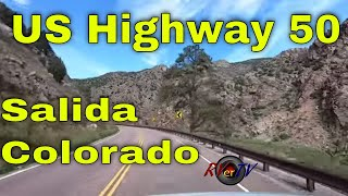 Salida Colorado - Rocky Mountains - US Highway 50