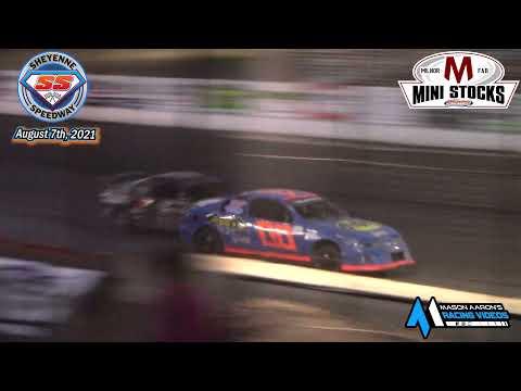 Sheyenne Speedway Mini Stock A-Main (8/7/21) - dirt track racing video image