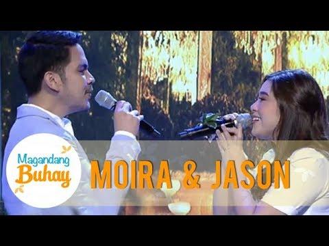 Magandang Buhay: Moira and Jason's sweet duet of