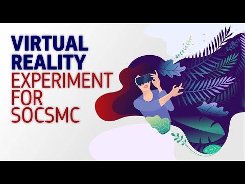 Virtual Reality Experiment for socSMC photo