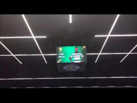Ambiente Pavilhao Joao rocha primeiro derby