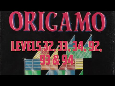 Origamo (1994) - PC - Levels 32, 33, 34, 92, 93 & 94