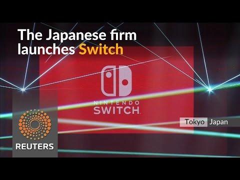 Nintendo launches $299 Nintendo Switch