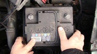 Sostituzione batteria Volkswagen Golf 4