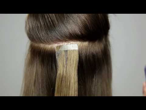How to remove Tape Extensions